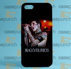 Mz7-black Veil Brides Andy Rock N Roll For Iphone 6 6 Plus 5 5s Galaxy S5 S5 Mini S4 & Other Smartphone Hard Back Case Cover