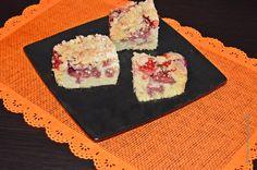 Na słodko lub wytrawnie: Ucierane ciasto z owocami i kruszonką