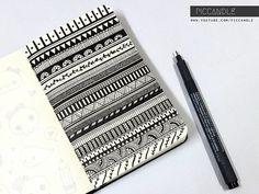 Doodle art design awesome zentangle patterns 18 New Ideas Doodle Art Drawing, Zentangle Drawings, Art Drawings, Doodles Zentangles, Cool Drawings Tumblr, Tumblr Art, How To Zentangle, Easy Doodles Drawings, Easy Doodle Art