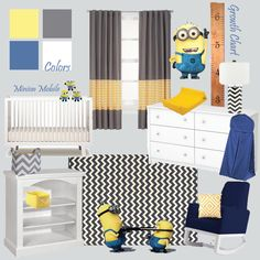 1000 ideas about minion nursery on pinterest nursery