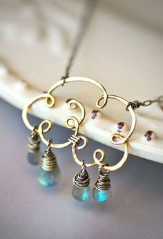 Small Life Giving Cloud Gold Fill Wire and by Mayahelena on Etsy