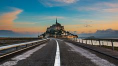 Le Mont Saint Michel by Lucien Vatynan on 500px
