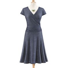 Knit Denim Dress  NorthStyle