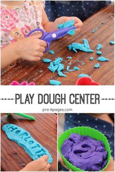 Preschool Play Dough Center
