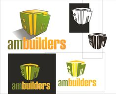 logo for am builders