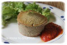 Gâteau de foies de volaille et coulis de tomates (thermomix TM 5 ou TM31 )