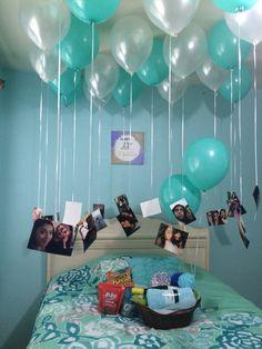 So your boyfriend's birthday is within the corner. Birthday Room Surprise, Cute Birthday Gift, Birthday Gifts For Best Friend, Birthday Gifts For Boyfriend, Diy Birthday, Best Friend Gifts, Birthday Presents, Boyfriend Gifts, Gifts For Friends