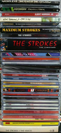 The Strokes complete CD/Albums The Strokes, Albert Hammond, Musica Disco, Julian Casablancas, Cds, Self Promo, Sugar Baby, Cd Album, Music Posters