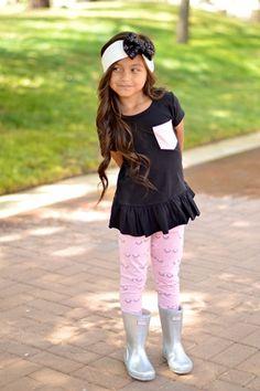 Eyelash Leggings   Taylor Joelle Designs Baby and Children's Clothing Boutique