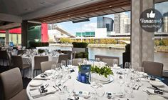 East Wing at River's Edge Events, Melbourne.    http://venuemob.com.au/space/east-wing-at-rivers-edge-events