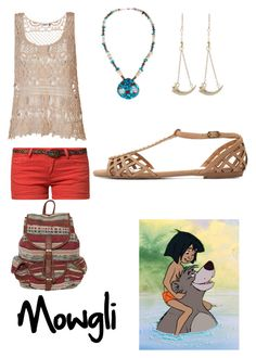 """Mowgli"" by krusi611 ❤ liked on Polyvore featuring ONLY, Best Mountain, Anna Sheffield and Charlotte Russe"