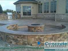 Cousino's Concrete Impressions - Outdoor Living (decks, patio, fire pits)