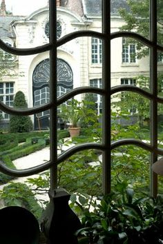 Some of the most beautiful windows ever created. Not every window is the same mass produced boring architecture. Beautiful Gardens, Beautiful Homes, Belgian Pearls, Window View, Through The Window, Garden Gates, Architectural Elements, Architecture Details, French Architecture