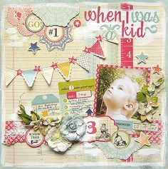 {When I Was a Kid} - Scrapbook.com