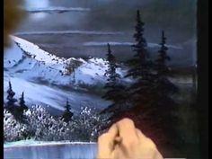 Боб Росс - Учимся рисовать лунный пейзаж зимой (1 сезон)