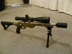 Kiwi (new zealand) bush pig rifle. Short suppressed (any action) rifle that'll go zero to 2-300 metres in close quarter bush. One gun can do (mostish) nz standards.......lol