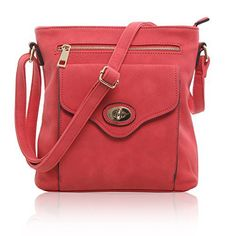 New Trending Cross Body Bags: MG Collection Designer Shoulder Bag Convertible Cross Body,Coral,One Size. MG Collection Designer Shoulder Bag Convertible Cross Body,Coral,One Size   Special Offer: $22.50      199 Reviews Fun and fashion go hand in hand when you make this charming crossbody tote purse a part of your wardrobe. The leatherette exterior is perfectly paired with gold-tone hardware...