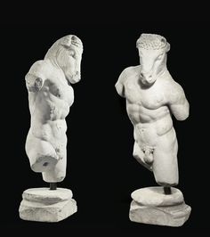 Minotaur (marble, Roman, c.1st–2nd century)  From the collection of Yves Saint Laurent and Pierre Bergé