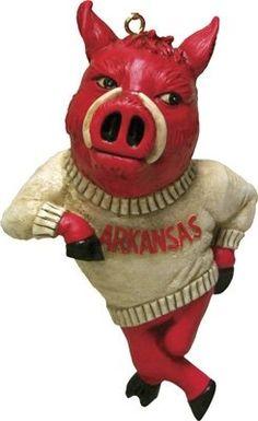 Arkansas Razorback ornaments