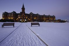 Slieve Donard Hotel, Newcastle, Northern Ireland. I want to stay here!