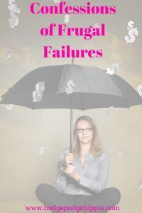 frugal failures