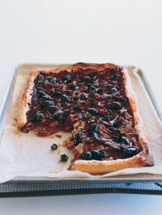 onion, anchovy and olive tart 5 brown onions, sliced 3 tablespoons olive oil 2 tablespoons balsamic vinegar 1 tablespoon brown sugar 375g re...