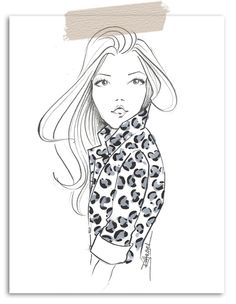Fabulous Doodles-Fashion Illustration Blog-by Brooke Hagel: Tuesday Tip: Illustrating Leopard