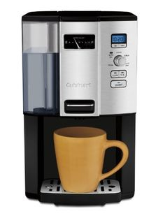 Cuisinart Espresso-on-Demand Programmable Coffeemaker Espresso With out the Carafe! Cuisinart lets you will have your espresso on demand! Best Drip Coffee Maker, Single Cup Coffee Maker, Single Serve Coffee, Barista, Espresso Machine Reviews, Coffee Maker Reviews, Carafe, Mixer, Coffee Center