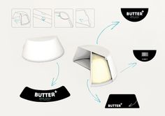 Butter Plus (beurre) | Allemagne packaging amovible
