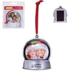 Magnetic Snow Globe Ornament