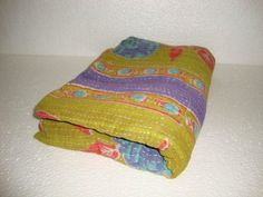 Traditional Indian Kantha Quilt Reversible by Antiquecollections, $29.90