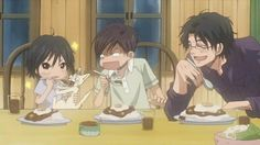 Shinobu, his older Brother, Kaoru, and his father, Tsucasa Morita Honey And Clover, Cats, Anime, Brother, Gatos, Kitty Cats, Anime Shows, Anime Music, Cat