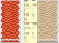 44 tarjetas, 4/ 2 colores, repite cada 24 movimientos // sed_772 diseñado en GTT༺❁