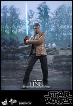 The Finn Sixth Scale Figure by Hot Toys is now available at Sideshow.com for fans of Episode VII Star Wars The Force Awakens and John Boyega.