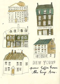 Some old Coffee Houses.