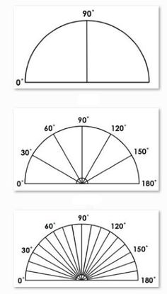 Protractors are confusing! Teaching children to use them is often harder than teaching them to tell the time! Here's a wonderful idea that helps... simple, learner-protractors. Print these onto acetate and watch your children use them with ease.