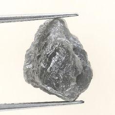 5.91 Carats Grayish Natural Uncut Raw ROUGH DIAMOND