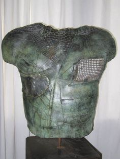 Sculpture - Buste bronze Dimension h 60cm l 50cm Laurent Inquimbert