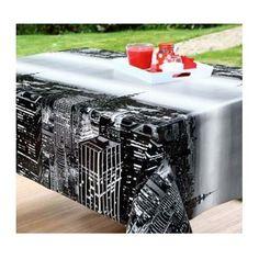 Toile cirée imprimée Stores, Outdoor Furniture, Outdoor Decor, Decoration, Ottoman, York, Home Decor, Oilcloth, Decor