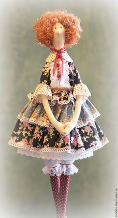 Купить Симона - розовый, тильда, тильда кукла, тильда принцесса, тильда ангел
