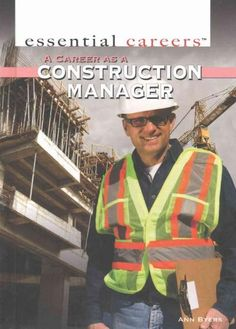 A Career As a Construction Manager  | This pin brought to you by constructNET International, Inc. (cNI) provides online solutions to education and training challenges. www.constructnetonline.com