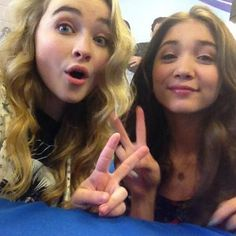 rowan blanchard sabrina carpenter june 14 2014 Photos: Girl Meets World Cast At Meet & Greet With Radio Disney June 14, 2014