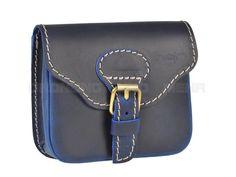 PAUL HAJN - Pull-Up Gürteltasche Leder Hüfttasche Hipbag Bauchtasche - rot, blau, lila oder braun