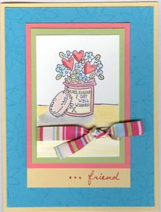 Get Well Card using Stampin Up Happy Healing