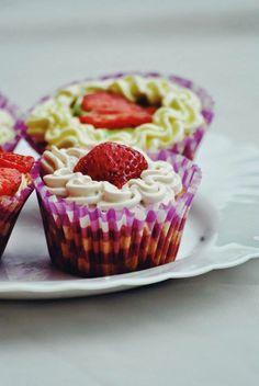 #cupcake #strawberries #sweet #cook