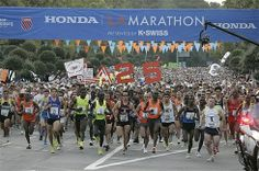 The L.A Marathon!