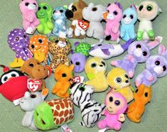 89e262acb1d 25 Ty Beanie Boos McDonalds Mini Plush Stuffed ANimals Some Tags Unicorn  Moose +