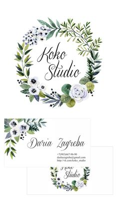 Работы - Koko studio Watercolor Projects, Wreath Watercolor, Watercolor Flowers, Watercolor Paintings, Watercolour, Flower Frame, Flower Wall, Lettering Design, Hand Lettering