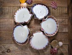 Scallop Shell candle - Soap Making Magazine