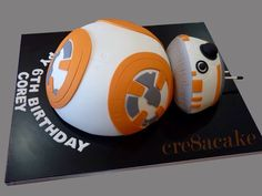 BB-8 Birthday Cake